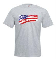Мъжка тениска с щампа A0012