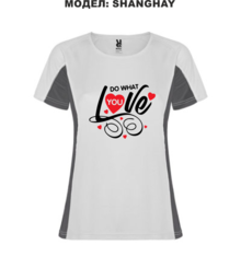 Дамска тениска с щампа A0024