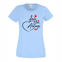 Дамска тениска с щампа A0025