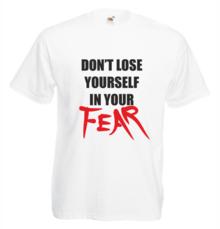 Мъжка тениска с щампа A0041