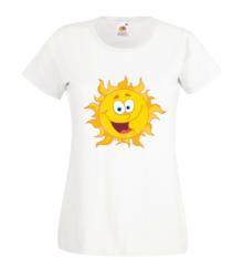 Дамска тениска с щампа А0045