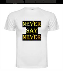 Мъжка тениска с щампа A0055
