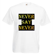 Мъжка тениска с щампа A0056