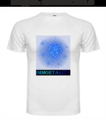 Мъжка тениска с щампа A0073