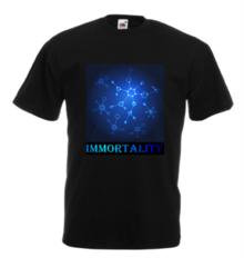 Мъжка тениска с щампа A0074