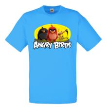 Мъжка тениска с щампа A0116