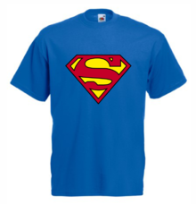 Мъжка тениска с щампа A0115