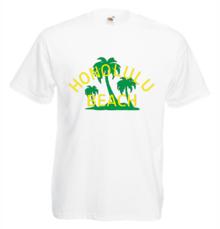 Мъжка тениска с щампа A0112