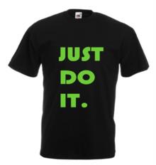 Мъжка тениска с щампа A0111