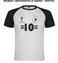 Мъжка тениска с щампа A0107