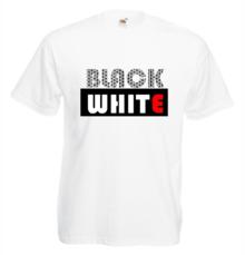 Мъжка тениска с щампа A0117