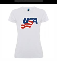 Дамска тениска с щампа А0123