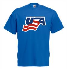 Мъжка тениска с щампа A0124