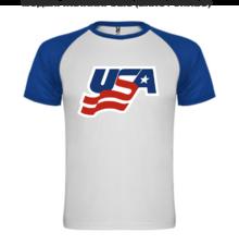 Мъжка тениска с щампа A0125