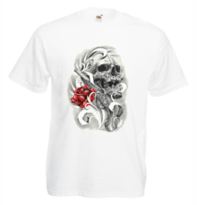 Мъжка тениска с щампа A0132