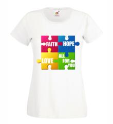 Дамска тениска с щампа A0146