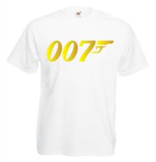 Мъжка тениска с щампа A0151