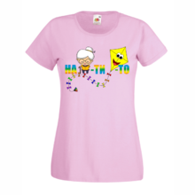 Дамска тениска с надпис A0170