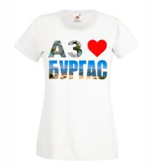 Дамска тениска с щампа A0174