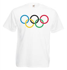 Мъжка тениска с щампа A0180