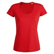Дамска тениска с дълбоко деколте С517