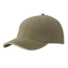 Шест панелна памучна шапка С753