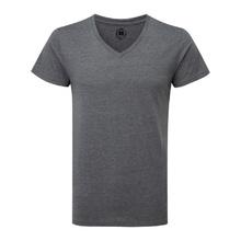 Мъжка тениска с остро деколте С65