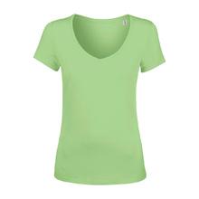 Дамска тениска с остро деколте С1353