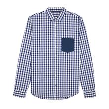 Карирана мъжка риза С1591