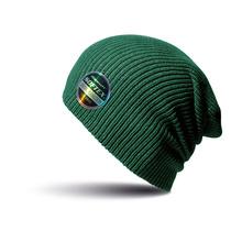 Двуслойна плетена шапка С994