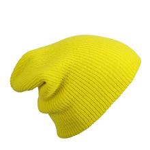 Удължена плетена шапка С970