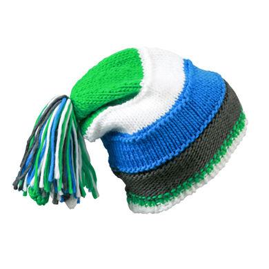Цветна шапка с ресни С1332