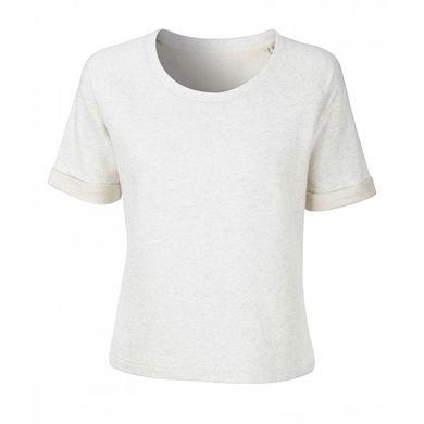 Плътна блуза с къс ръкав В1068