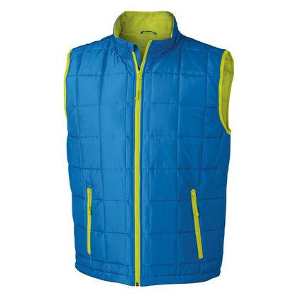 Топло мъжко яке без ръкави В641