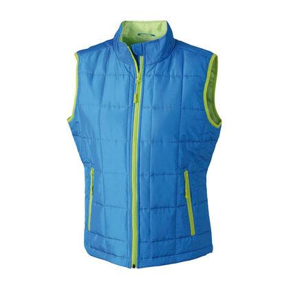 Топло дамско яке без ръкави В642