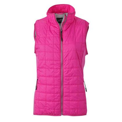 Модерно дамско яке без ръкави В887