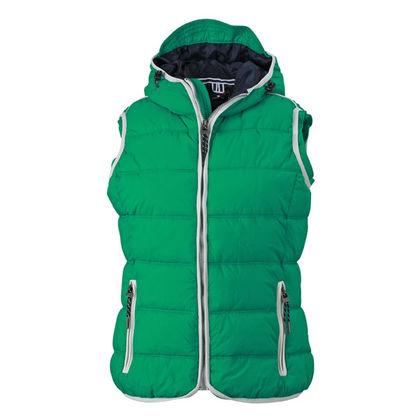 Страхотно дамско яке без ръкави В656
