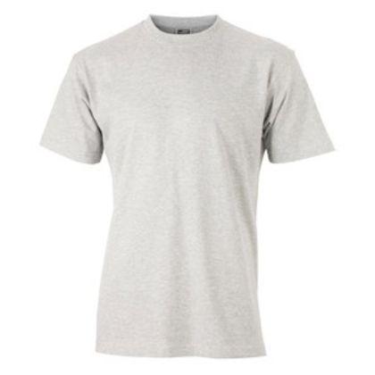 Мъжка тениска с кръгло деколте С626