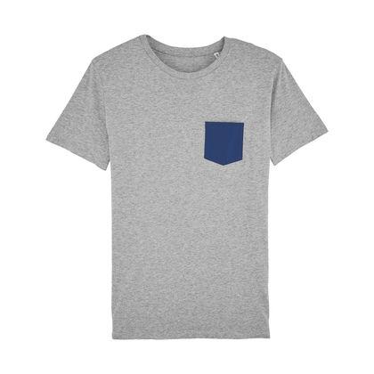 Мъжка тениска с джоб С1675