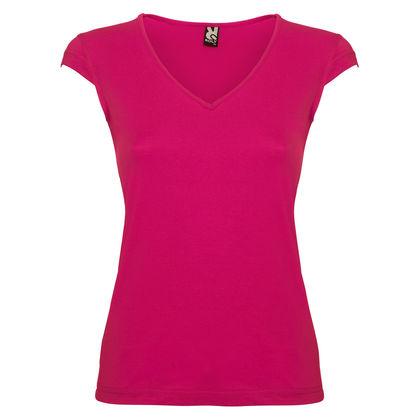 Вталена дамска тениска С625