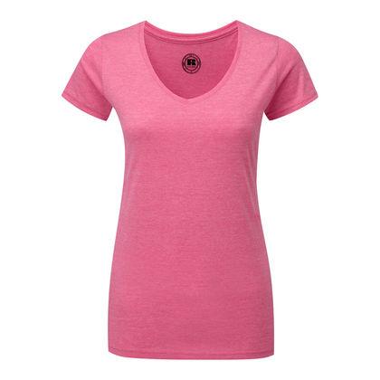 Дамска тениска с остро деколте С66