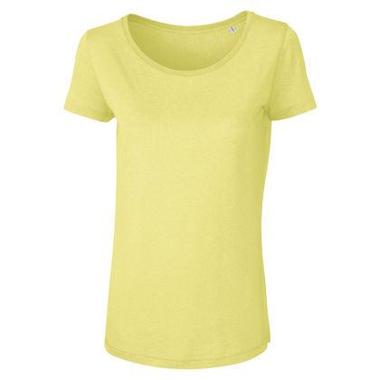 Свежа леко вталена дамска тениска С750