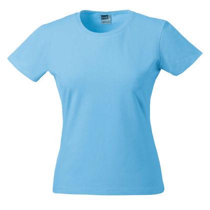 Дамска синя тениска С318