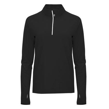 Дамска спортна блуза с половин цип С1772