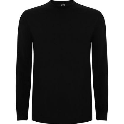 Черна изчистена блуза С85