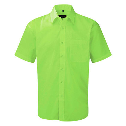 Елегантна мъжка риза с къс ръкав С636