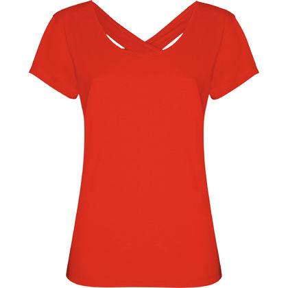 Дамска тениска с гол гръб С55
