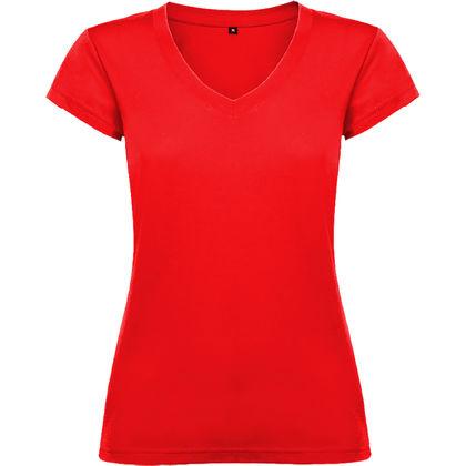 Дамска тениска с остро деколте С1244