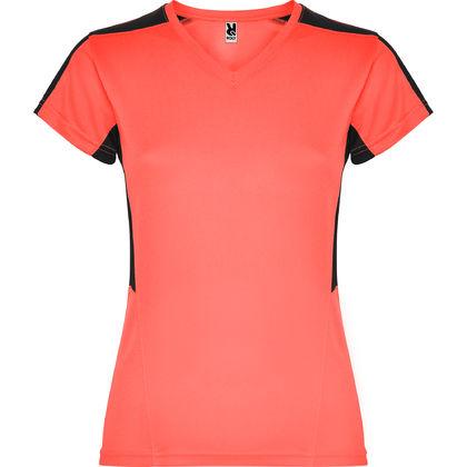 Дамска тениска с остро деколте С1483
