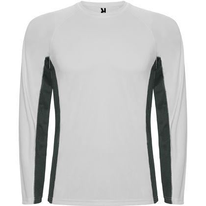 Спортна двуцветна блуза С1380